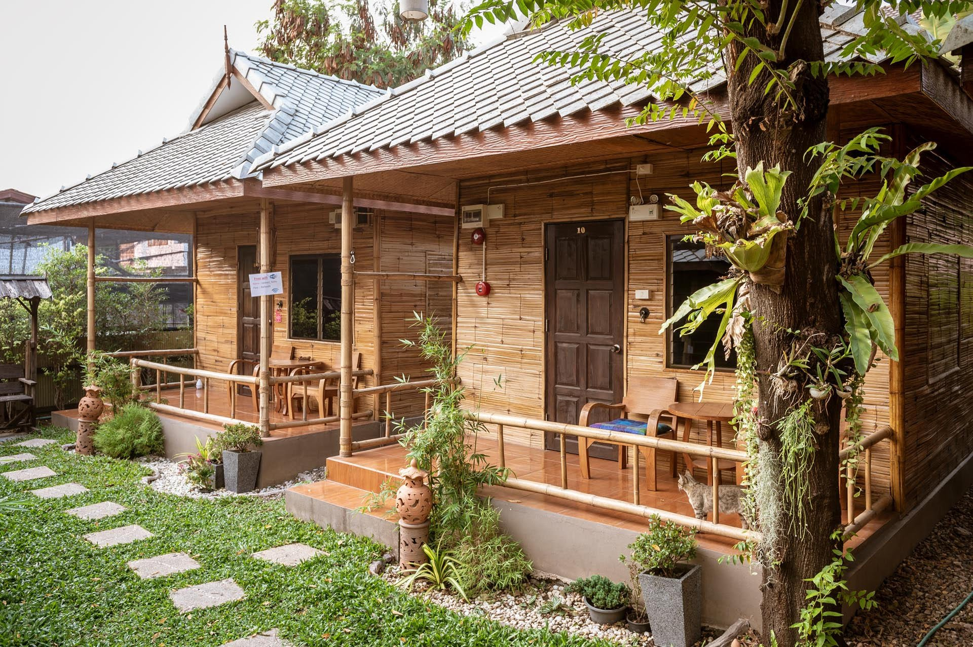 Jaidee Bamboo Huts Ma Thailande